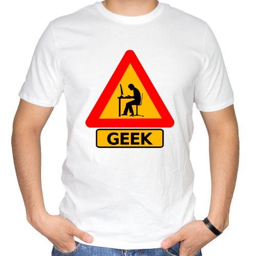 Fotografía del producto Precaucion Chico Geek (518)