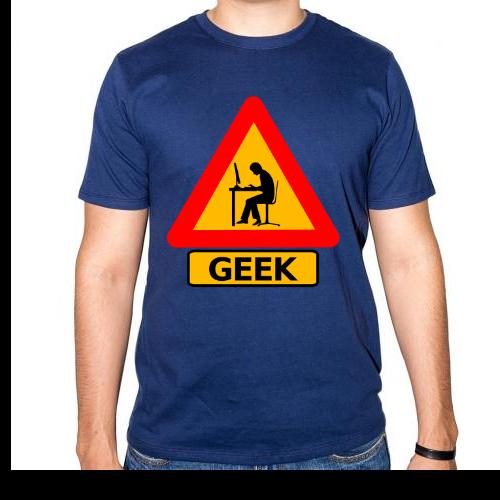 Fotografía del producto Precaucion Chico Geek (520)
