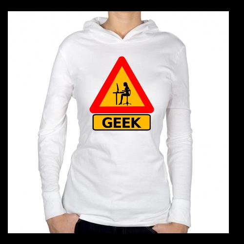 Fotografía del producto Precaucion Chica Geek (534)