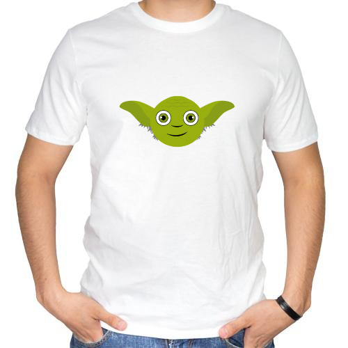 Fotografía del producto Yoda_HappyFace_May the Force be with you (1030)