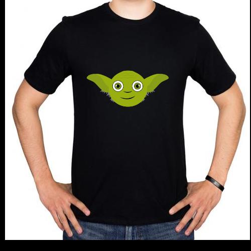 Fotografía del producto Yoda_HappyFace_black (1032)