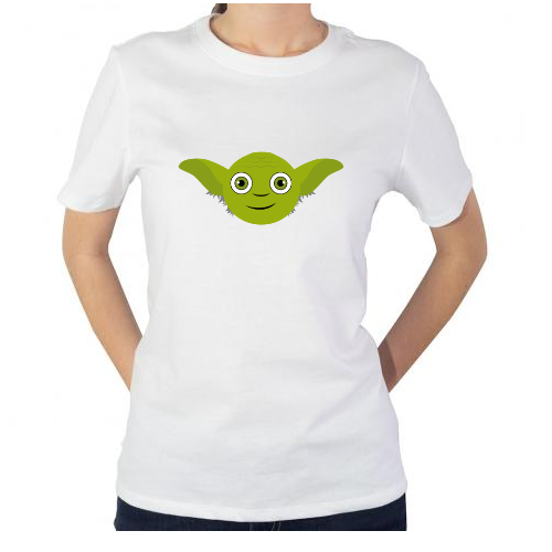 Fotografía del producto Yoda_HappyFace_May the Force be with you (1050)