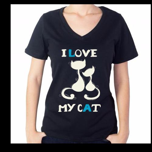 Fotografía del producto I LOVE MY CAT (1365)