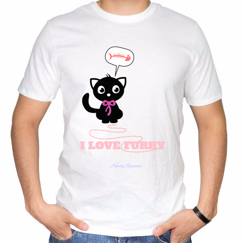 Fotografía del producto I LOVE FURRY  CAT (1418)