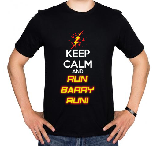Fotografía del producto Keep Calm and Run Barry Run! (1575)
