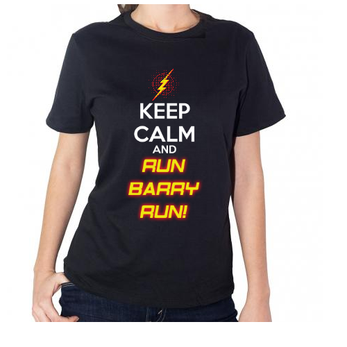 Fotografía del producto Keep Calm and Run Barry Run! (1576)
