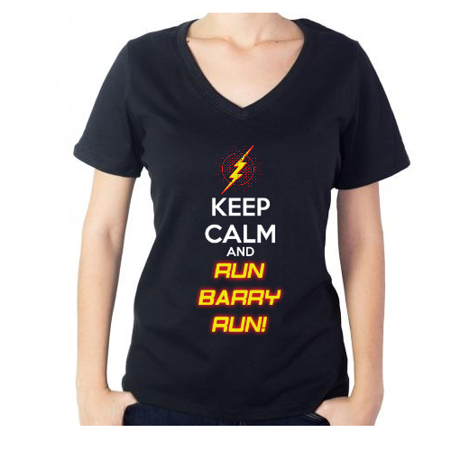 Fotografía del producto Keep Calm and Run Barry Run! (1577)