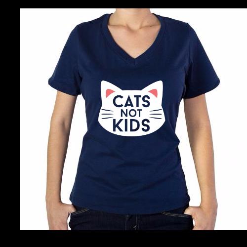 Fotografía del producto Cats Not Kids (1726)