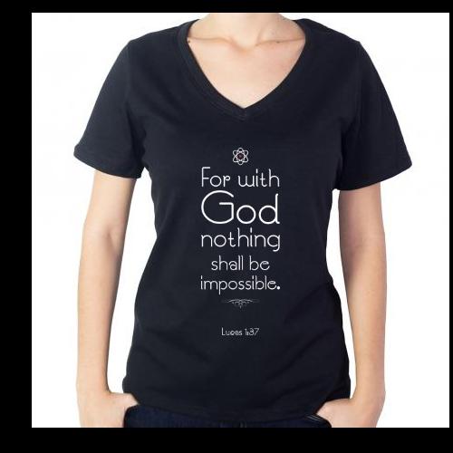 Fotografía del producto God's atom // Impossible? // Mujer (2214)