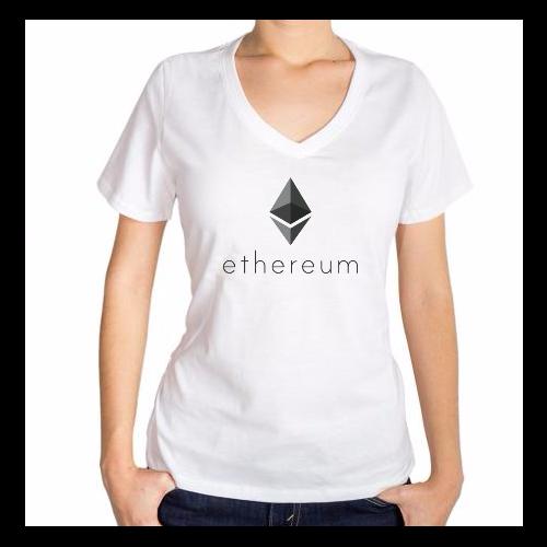Fotografía del producto Ethereum girl Tshirt