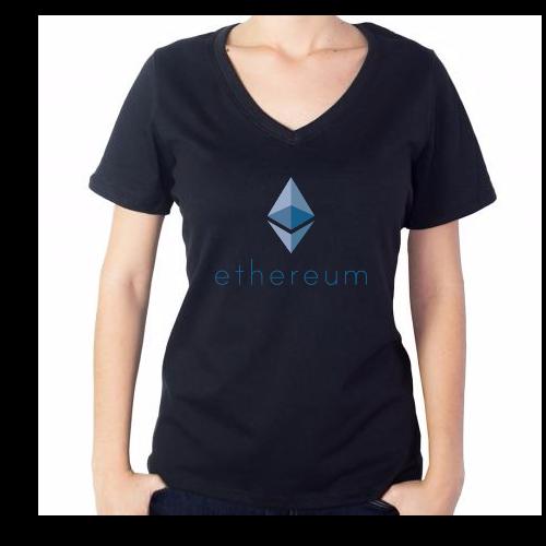 Fotografía del producto Ethereum Girl Tshirt (2539)