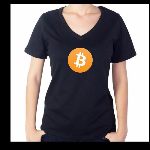 Fotografía del producto Bitcoin Girl Tshirt (2540)