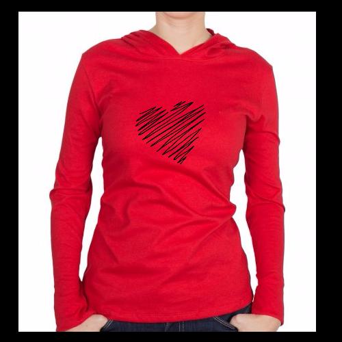 Fotografía del producto Heart Line Red (2973)