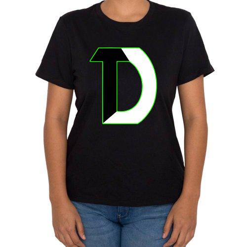 Fotografía del producto TheDiswasher Playera con Logo Aura Verde Dama (11417)