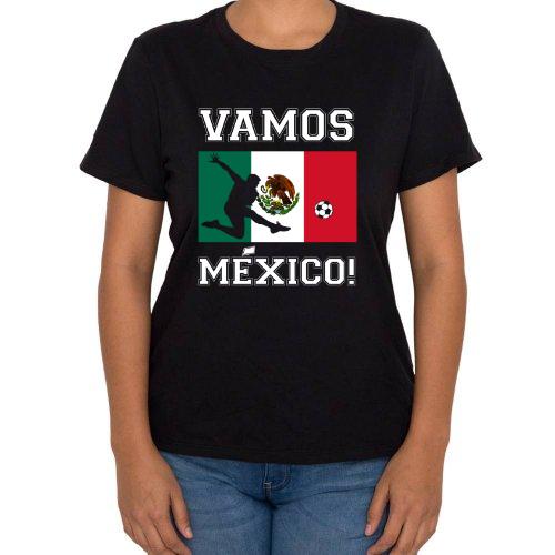 Fotografía del producto Playera de la Copa Mundial de Rusia 2018 Bandera de Mexico Seleccion Mexicana de Futbol (12289)