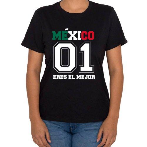 Fotografía del producto Playera de la Copa Mundial de Rusia 2018 Estilo Bandera de Mexico  Seleccion Mexicana de Futbol (12291)