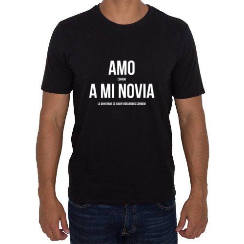 Fotografía del producto Amo Cuando A Mi Novia Le Dan Ganas de Jugar Videojuegos Conmigo (21290)