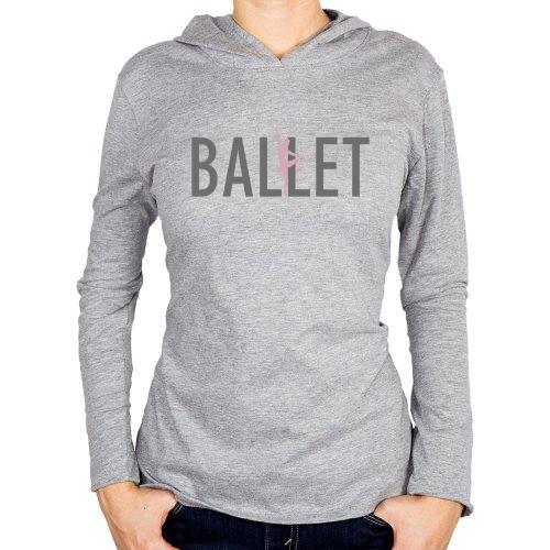 Fotografía del producto Ballet Hoodie with Pink Ballerina (22122)