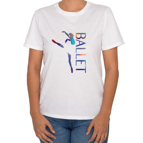 Fotografía del producto Ballet T-Shirt with colored triangles (22130)