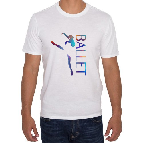 Fotografía del producto Ballet T-Shirt with colored triangles (caballero) (22131)