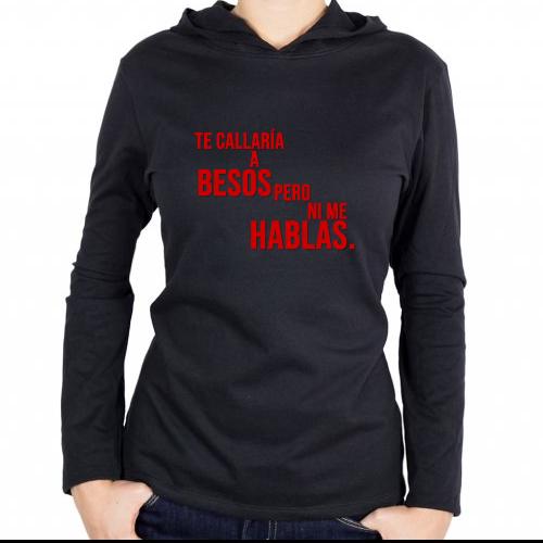 Fotografía del producto #Tecallaríaabesosperonimehablas (22265)
