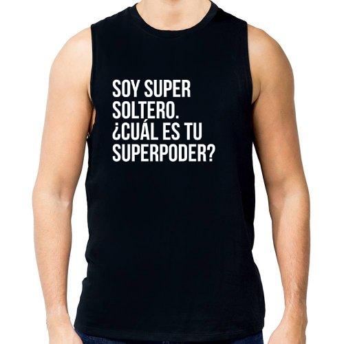 Fotografía del producto Soy super soltero.  ¿Cuál es tu superpoder?  (en blanco) (23803)