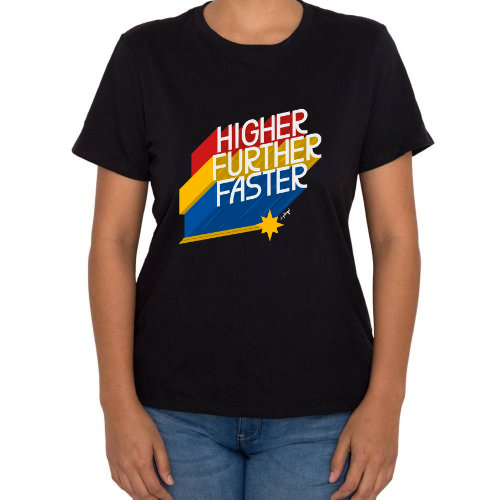 Fotografía del producto HIGHER, FURTHER FASTER (24817)