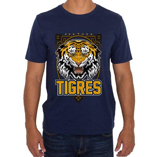 Fotografía del producto Tigres  camiseta en color azul (25005)