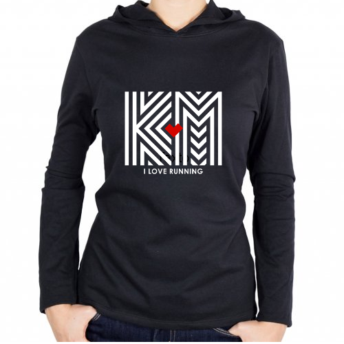 Fotografía del producto I LOVE RUNNING KM - WHITE (25416)