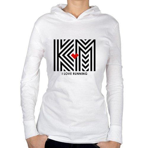 Fotografía del producto I LOVE RUNNING KM –BLACK (25417)
