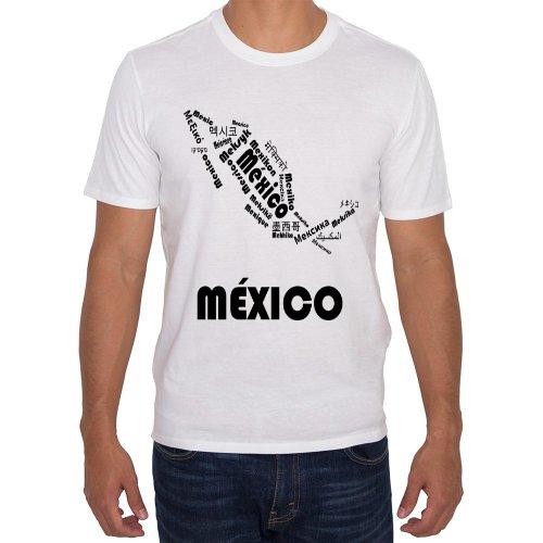 Fotografía del producto Mexico - Mapa de Idiomas Blanca (26741)