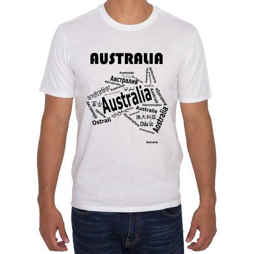 Fotografía del producto Australia - Mapa de Idiomas Blanca (27438)