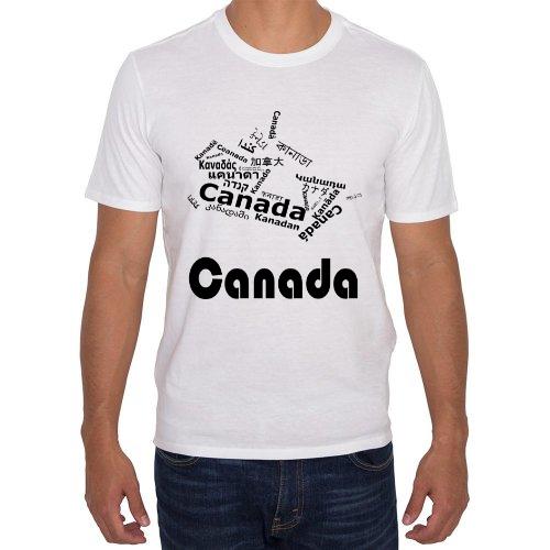 Fotografía del producto Canadá - Mapa de Idiomas Blanca (27444)