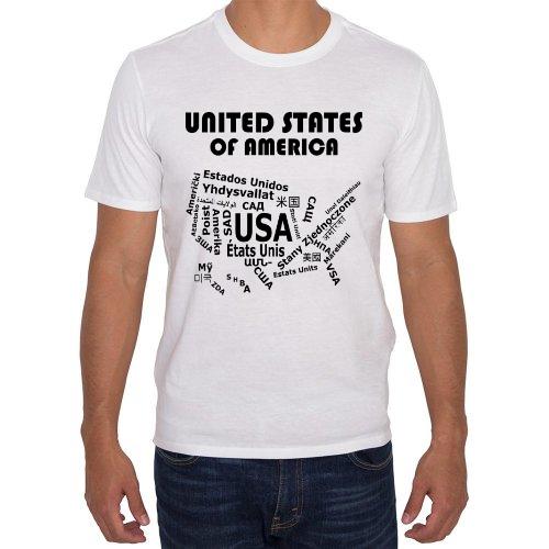 Fotografía del producto Estados Unidos - Mapa de Idiomas Blanca (27452)