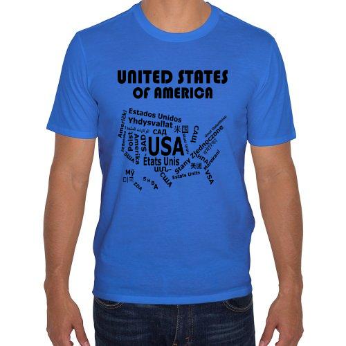Fotografía del producto Estados Unidos - Mapa de Idiomas (27453)