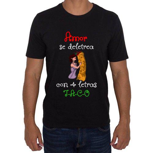 Fotografía del producto Amor se deletrea con 4 letras T-A-C-O. (28338)