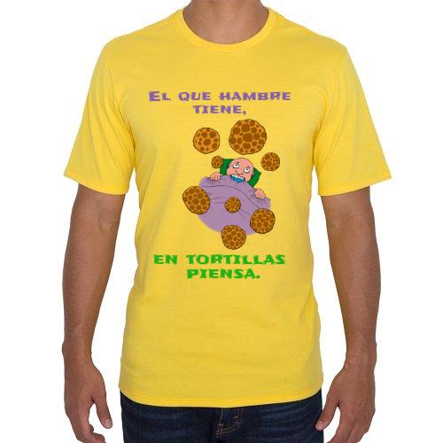 Fotografía del producto El que hambre tiene, en tortillas piensa. (28385)