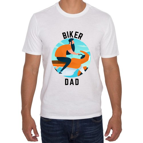 Fotografía del producto Biker Dad blanca (35266)