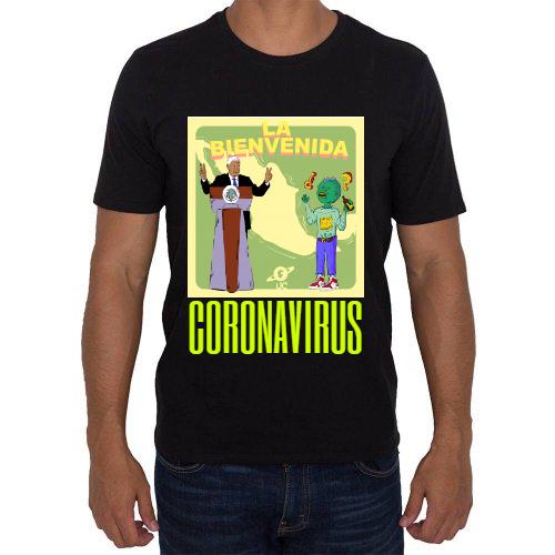 Fotografía del producto Bienvenida al Coronavirus (35301)