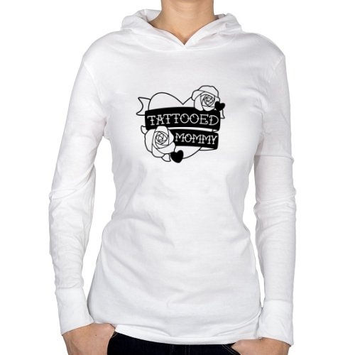 Fotografía del producto TATTOOED MOMMY HOODIE- WHITE
