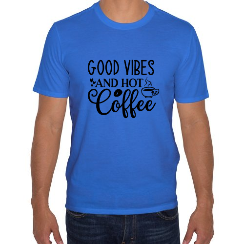 Fotografía del producto Playera Para Hombre Good Vibes Coffee (37257)