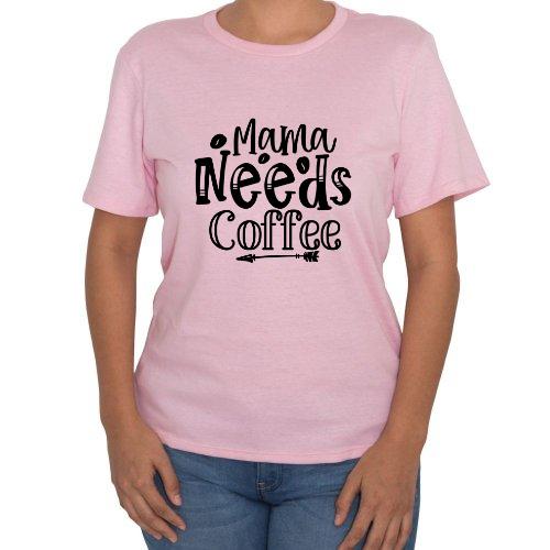 Fotografía del producto Playera Para Mujer Mama Needs Coffee (37258)