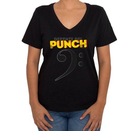Fotografía del producto Gerente del Punch Mujer cuello v (40380)