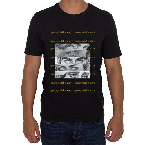 """Fotografía del producto Camisa Aesthetic (Hombre) """"ojos"""" (40864)"""