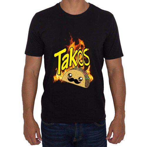 """Fotografía del producto """"TAKOS"""" Playera (hombre) (40984)"""