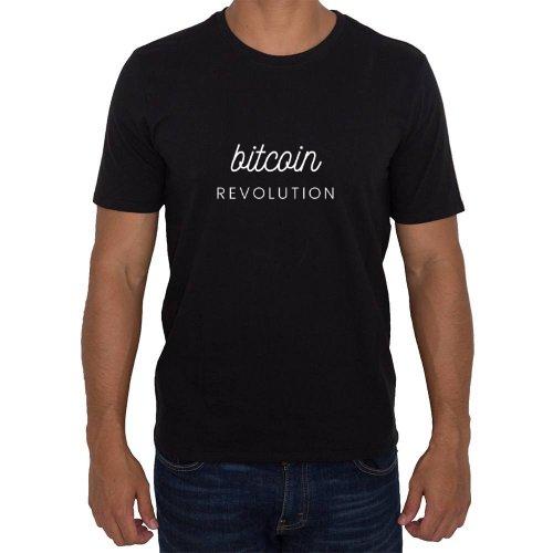 Fotografía del producto Bitcoin revolution cryptocurrency design camiseta esencial (41827)