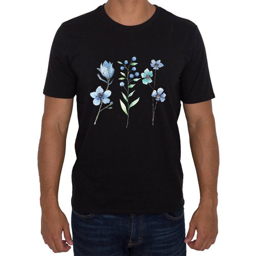 Fotografía del producto Flores azules (42381)