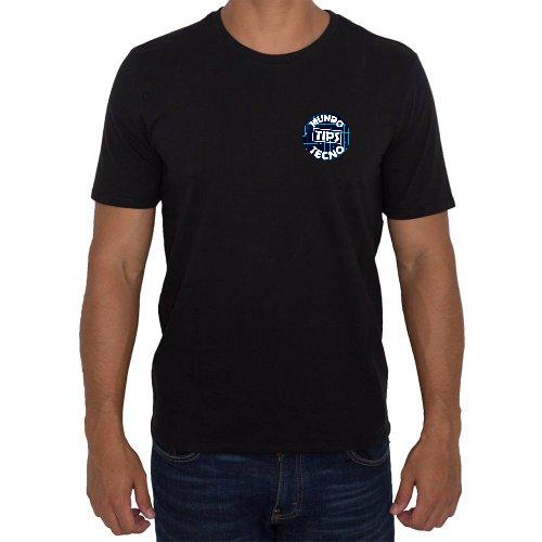 Fotografía del producto MundoTecnoTips en negro logo azul (44997)