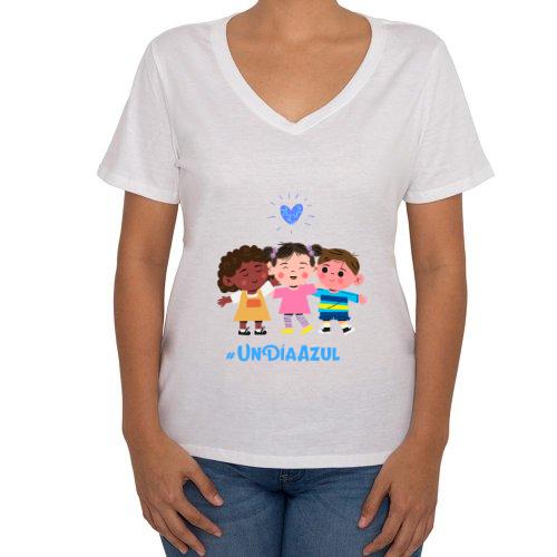 Fotografía del producto Día azul, conciencia del autismo Mujer (45290)