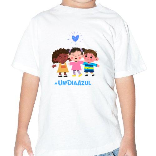 Fotografía del producto Día azul, conciencia del autismo Bebe niño (45292)